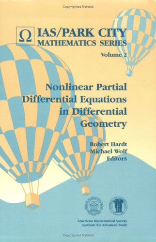 9780821804315: Nonlinear Partial Differential Equations in Differential Geometry