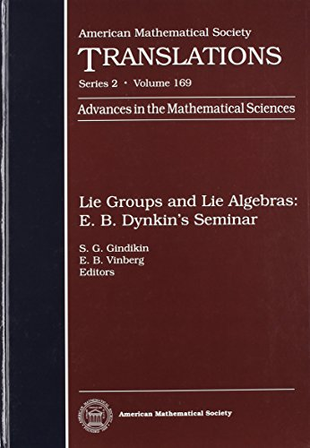 Lie Groups and Lie Algebras: E.B. Dynkin's: Amer Mathematical Society
