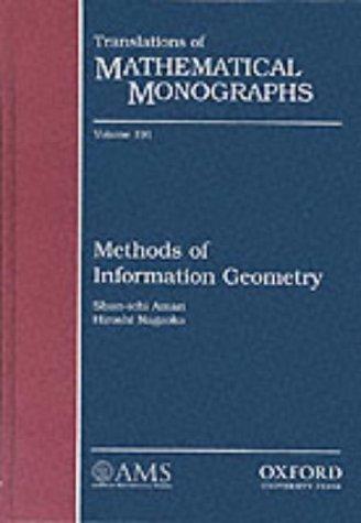 9780821805312: Methods of Information Geometry (Translations of Mathematical Monographs)