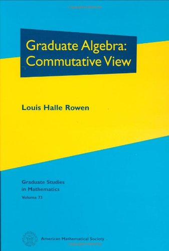 9780821805701: Graduate Algebra: Commutative View: 73