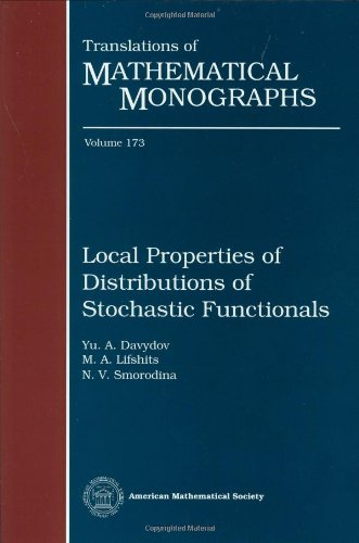 9780821805848: Local Properties of Distributions of Stochastic Functionals (Translations of Mathematical Monographs)