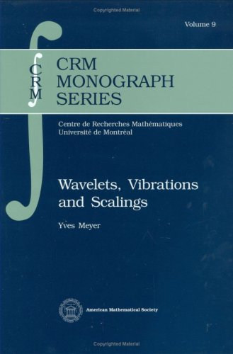 Wavelets, Vibrations and Scalings (Crm Monograph Series): Yves Meyer