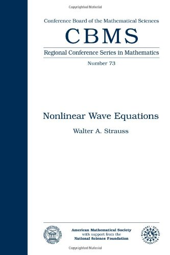 9780821807255: Nonlinear Wave Equations (Cbms Regional Conference Series in Mathematics)