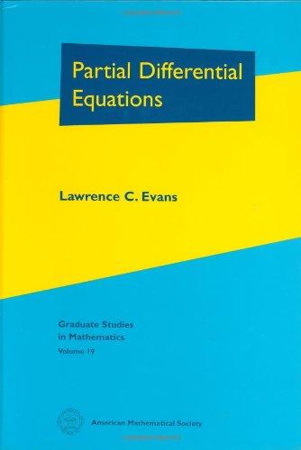 9780821807729: Partial Differential Equations (Graduate Studies in Mathematics, Vol. 19)
