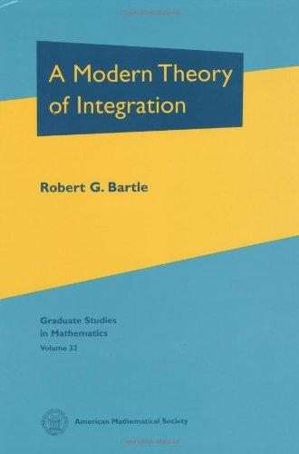 9780821808450: A Modern Theory of Integration (Graduate Studies in Mathematics)
