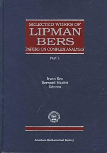 9780821808580: Selected Works of Lipman Bers (Collected Works)