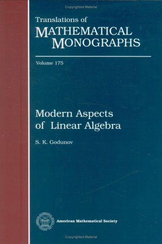 9780821808887: Modern Aspects of Linear Algebra