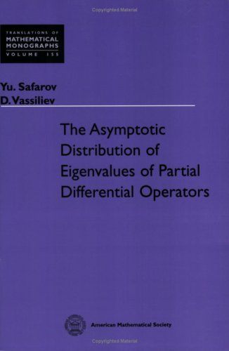 9780821809211: The Asymptotic Distribution of Eigenvalues of Partial Differential Operators (Translations of Mathematical Monographs)