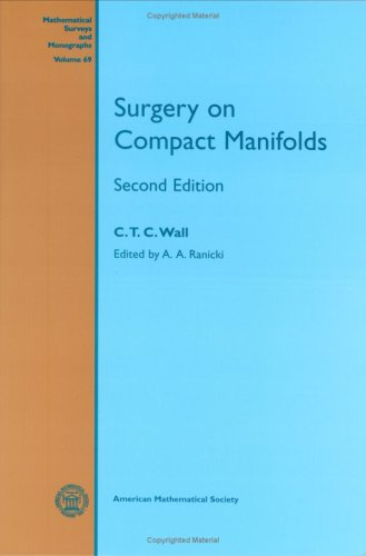 9780821809426: Surgery on Compact Manifolds (Mathematical Surveys & Monographs)