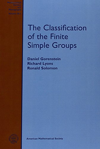 9780821809600: The Classification of the Finite Simple Groups