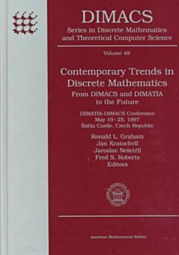 9780821809631: Contemporary Trends in Discrete Mathematics: From Dimacs and Dimatia to the Future : Dimatia-Dimacs Conference, May 19-25, 1997, Stirin Castle, Czech ... MATHEMATICS AND THEORETICAL COMPUTER SCIENCE)