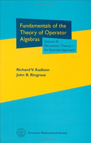 9780821809907: Fundamentals of the Theory of Operator Algebras. Volume III (Graduate Studies in Mathematics)