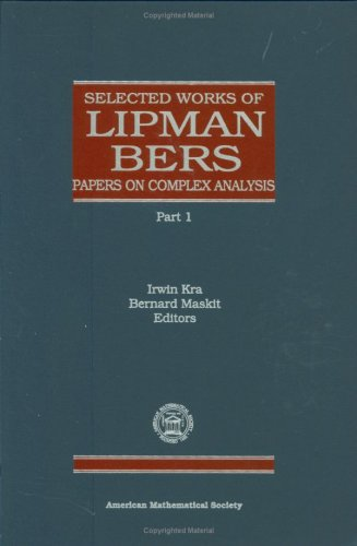 9780821809969: Selected Works of Lipman Bers (Collected Works)