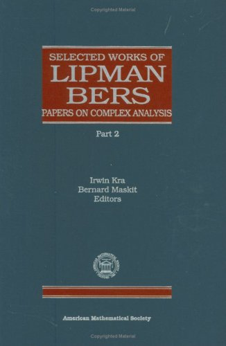 9780821809976: Selected Works of Lipman Bers (Collected Works)