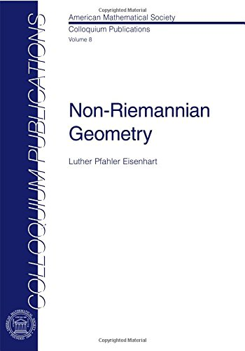 9780821810088: Non-Riemannian Geometry (COLLOQUIUM PUBLICATIONS (AMER MATHEMATICAL SOC))