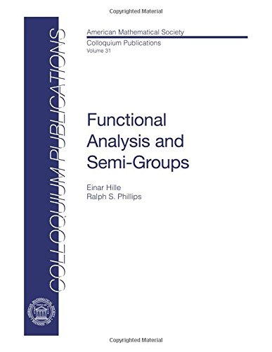 9780821810316: Functional Analysis and Semi-groups (Colloquium Publications)
