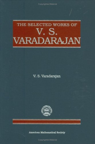 9780821810682: The Selected Works of V.S. Varadarajan (Collected Works)