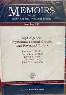 9780821810774: Hopf Algebras, Polynomial Formal Groups, and Raynaud Orders (Memoirs of the AMS)