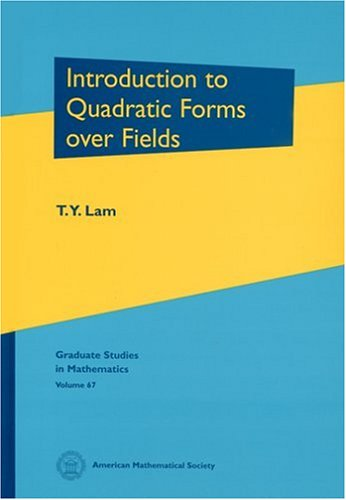 9780821810958: Introduction To Quadratic Forms Over Fields (Graduate Studies in Mathematics)