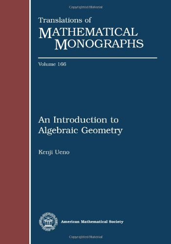 9780821811443: An Introduction to Algebraic Geometry (Translations of Mathematical Monographs)