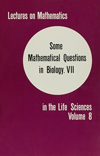 9780821811580: Some Mathematical Questions in Biology, Pt. VII