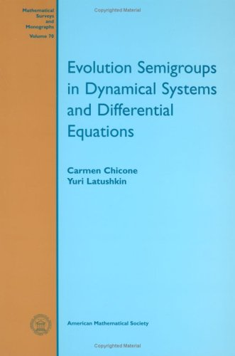 9780821811856: Evolution Semigroups in Dynamical Systems and Differential Equations (Mathematical Surveys & Monographs)