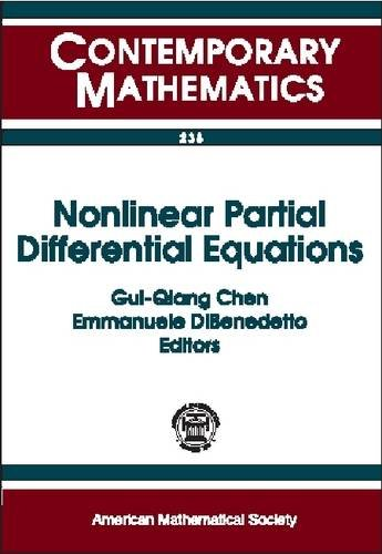 9780821811962: Nonlinear Partial Differential Equations: International Conference on Nonlinear Partial Differential Equations and Applications, March 21-24, 1998, Northwestern University (Contemporary Math. 238)