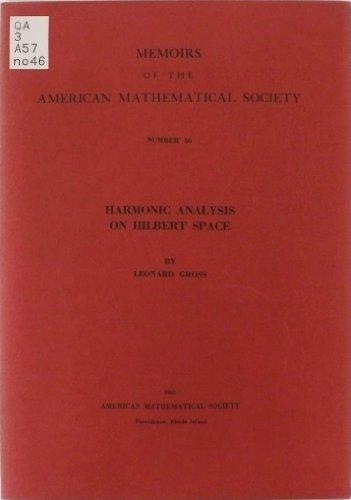 9780821812464: Harmonic Analysis on Hilbert Space