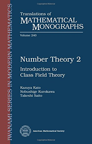9780821813553: Number Theory 2: Introduction to Class Field Theory (Translations of Mathematical Monographs Reprint)