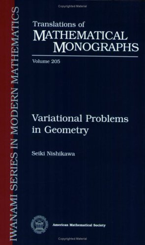 9780821813560: Variational Problems in Geometry (Translations of Mathematical Monographs)