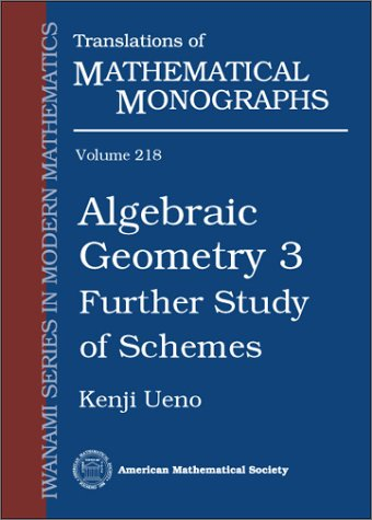 9780821813584: Algebraic Geometry 3: Further Study of Schemes (Translations of Mathematical Monographs)