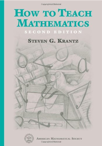 9780821813980: How to Teach Mathematics
