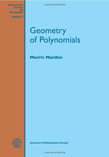 9780821815038: Geometry of Polynomials