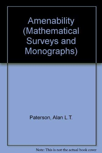 9780821815298: Amenability (Mathematical Surveys and Monographs, 29)