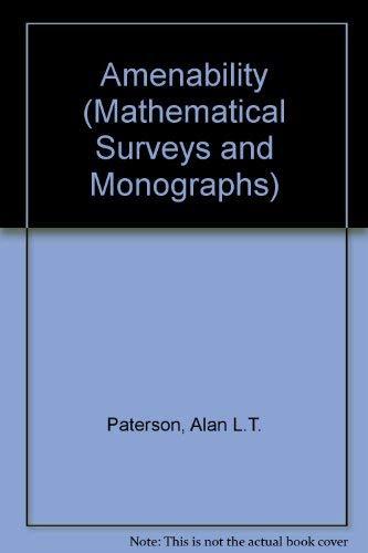 9780821815298: Amenability (Mathematical Surveys and Monographs)