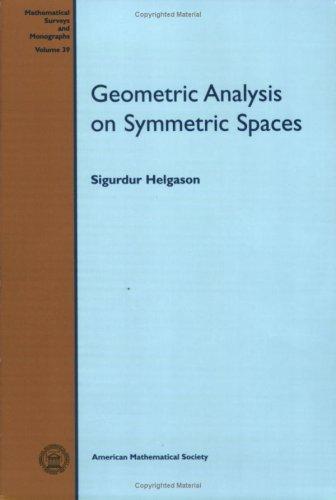 9780821815380: Geometric Analysis on Symmetric Spaces (Mathematical Surveys and Monographs) (Mathematical Surveys & Monographs)