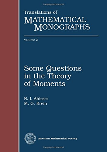Some Questions in the Theory of Moments: N. I. Ahiezer