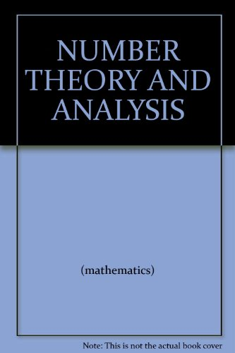 9780821816028: Number Theory and Analysis (American Mathematical Society Translations)