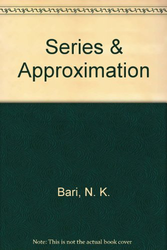 9780821816035: Series and Approximation (Translations, Series 1, Vol. 3)