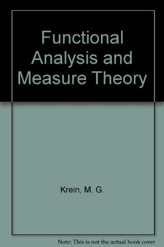 9780821816103: Functional Analysis and Measure Theory