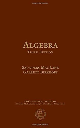 9780821816462: Algebra (AMS/Chelsea Publication)