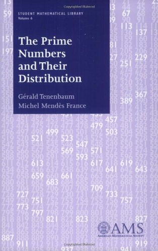 9780821816479: The Prime Numbers and Their Distribution (Student Mathematical Library, Vol. 6) (Student Mathematical Library, V. 6)