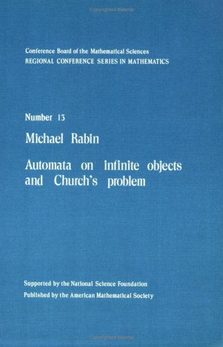 9780821816639: Automata on Infinite Objects and Church's Problem (CBMS Regional Conference Series in Mathematics)
