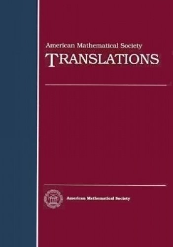 American Mathematical Society Translations Series 2 Volume: L. M. Abramov,