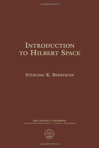 9780821819128: Introduction to Hilbert Space