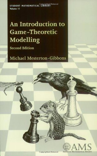 9780821819296: An Introduction to Game-Theoretic Modelling (Student Mathematical Library, Vol. 11) (Student Mathematical Library, V. 11)