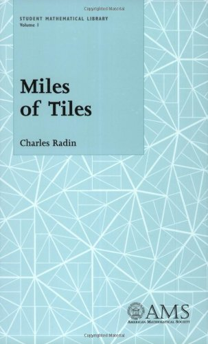 9780821819333: Miles of Tiles (Student Mathematical Library, Vol. 1) (Student Mathematical Library, V. 1)