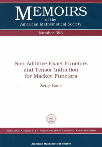 Non-Additive Exact Functors and Tensor Induction for: Bouc, Serge