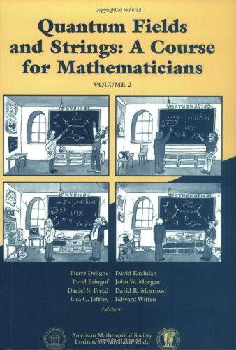 9780821820131: Quantum Fields and Strings: A Course for Mathematicians: Volume 2: v. 2 (American Mathematics Society non-series title)