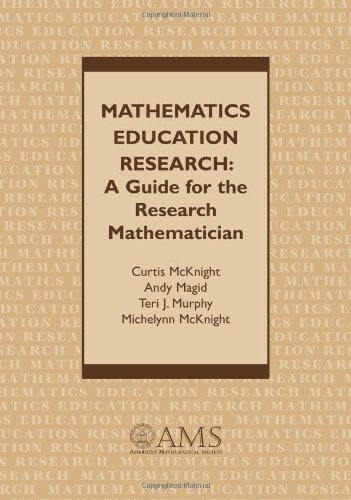9780821820162: Mathematics Education Research: A Guide for the Research Mathematician